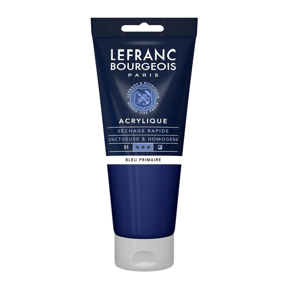 Tinta Acrílica Lefranc & Bourgeois 200ml 063 Primary Blue