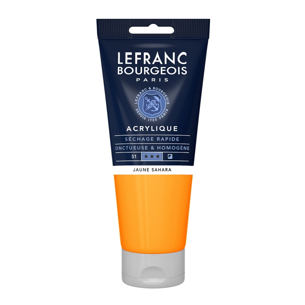 Tinta Acrílica Lefranc & Bourgeois 200ml 194 Sahara Yellow Tinta Acrílica Lefranc & Bourgeois 200ml 194 Sahara Yellow