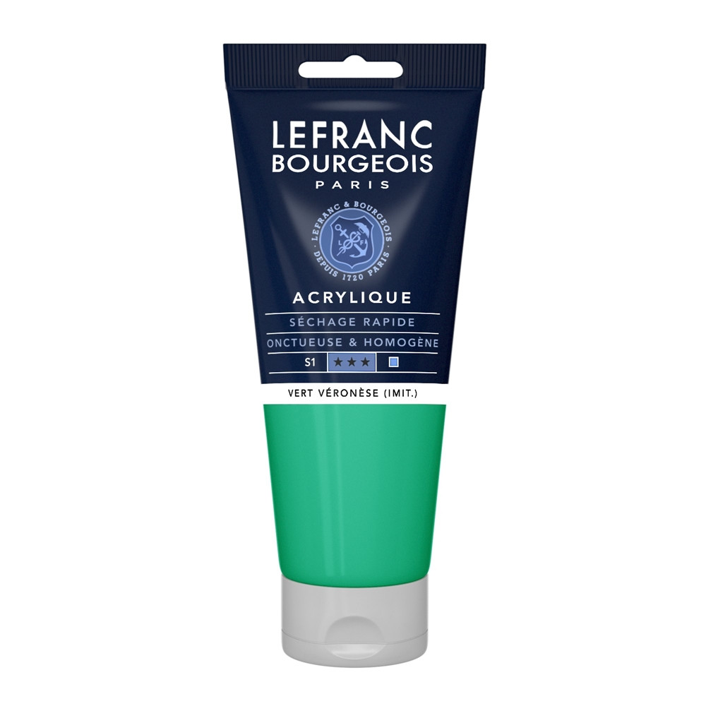 Tinta Acrílica Lefranc & Bourgeois 200ml 549 Veronese Green Shade