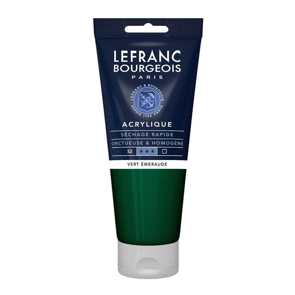 Tinta Acrílica Lefranc & Bourgeois 200ml 529 Viridian