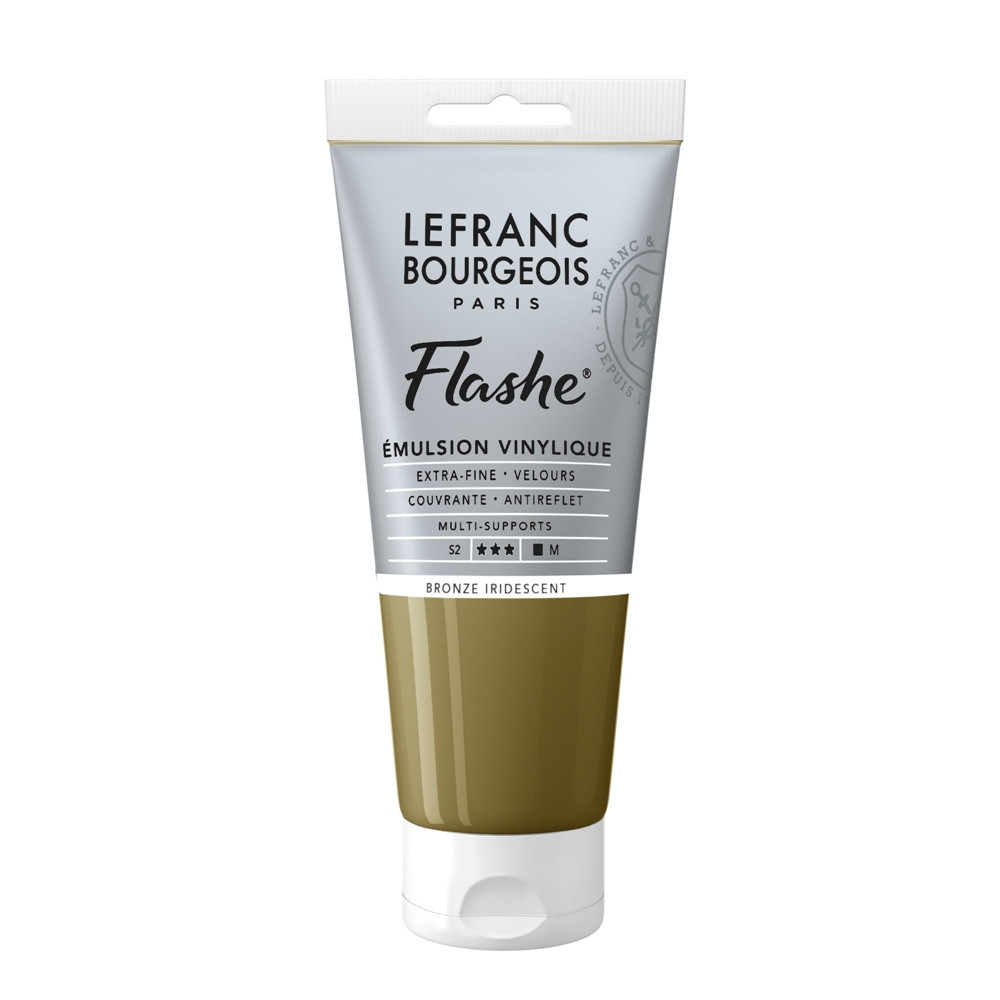 Tinta Acrílica Flashe Lefranc & Bourgeois 80ml S2 837 Bronze Iridescent