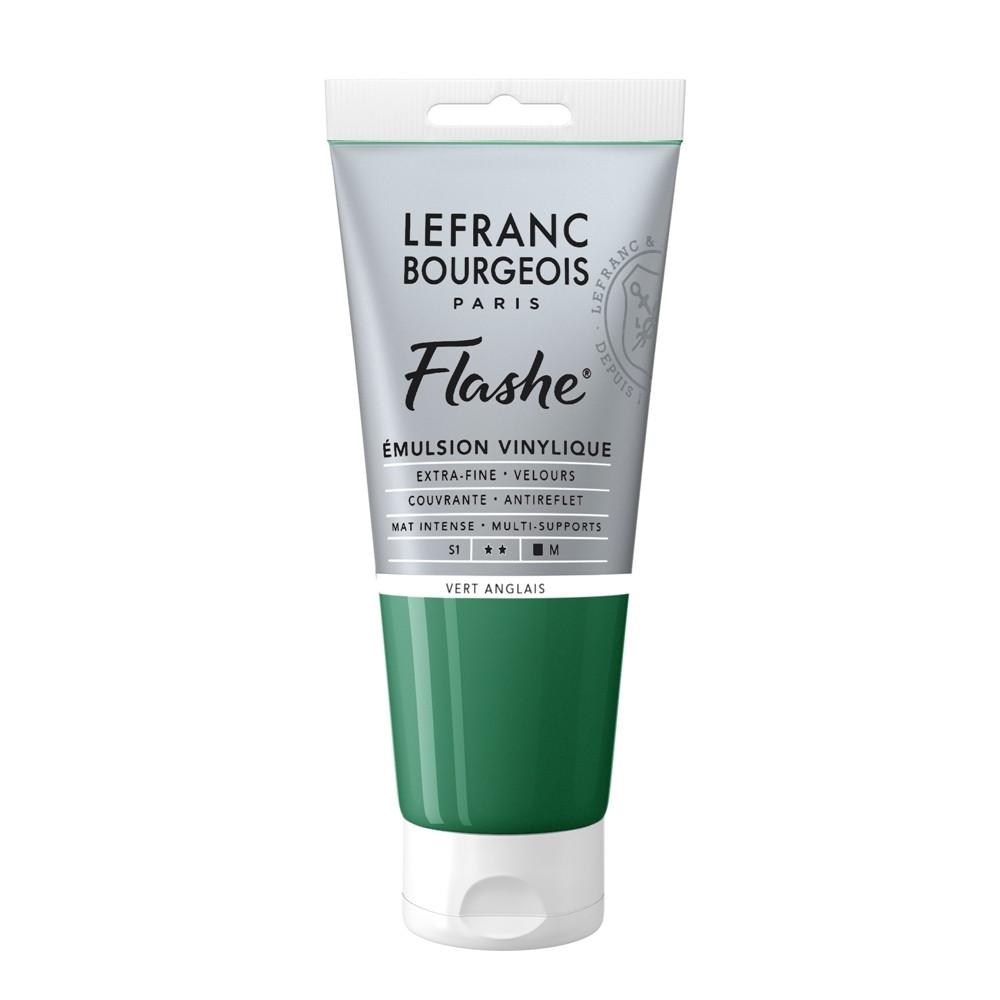Tinta Acrílica Flashe Lefranc & Bourgeois 80ml S1 504 Chrome Green