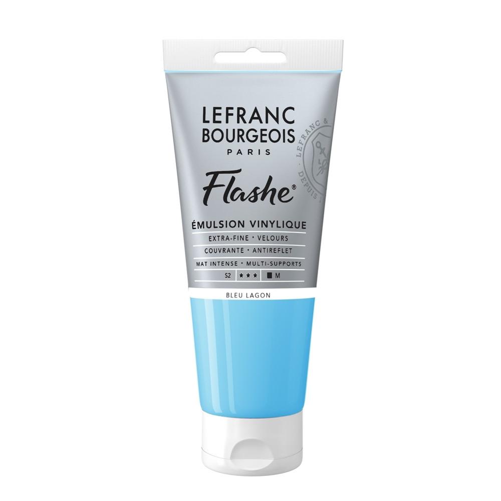 Tinta Acrílica Flashe Lefranc & Bourgeois 80ml S2 649 Lagoon Blue