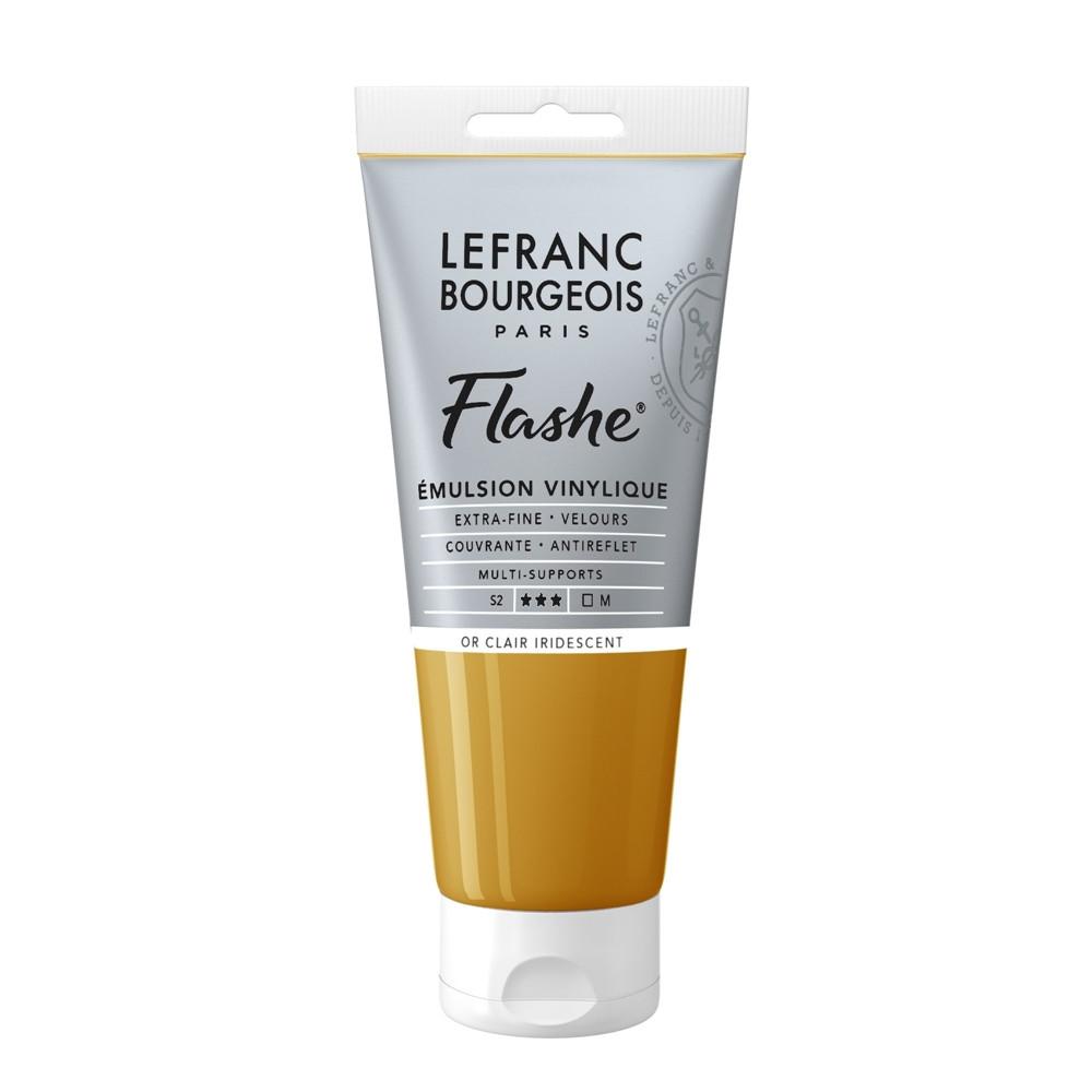 Tinta Acrílica Flashe Lefranc & Bourgeois 80ml S2 834 Light Gold Iridescent