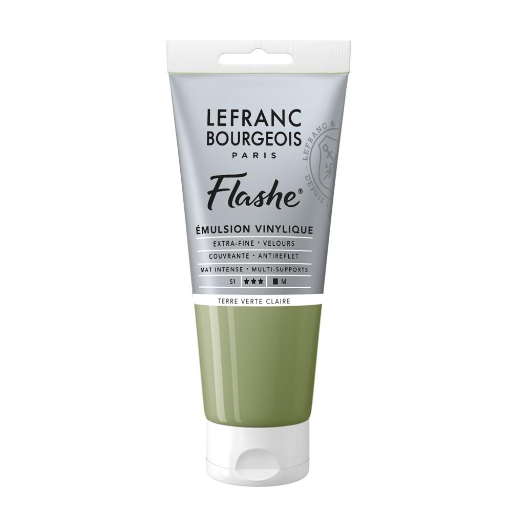 Tinta Acrílica Flashe Lefranc & Bourgeois 80ml S1 880 Light Green Earth