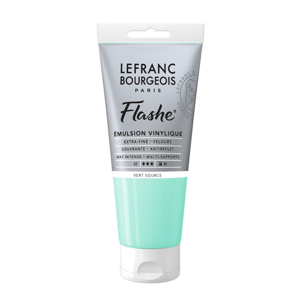 Tinta Acrílica Flashe Lefranc & Bourgeois 80ml S2 587 Water Green