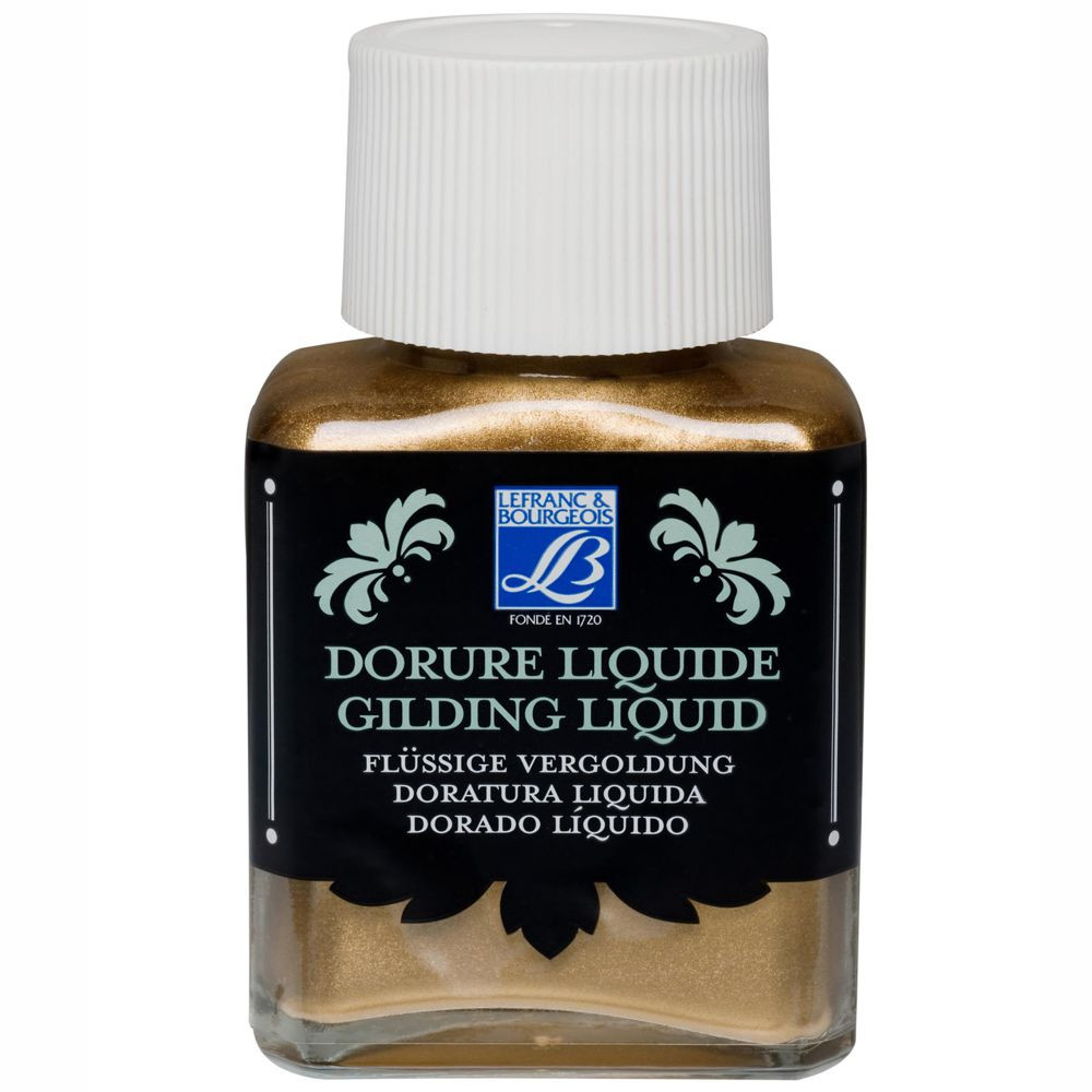 Gilding Liquid Lefranc & Bourgeois 75ml Brass ( Latão )