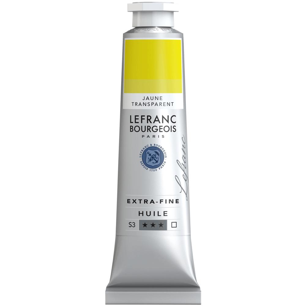 Tinta Óleo Lefranc & Bourgeois Extra Fine 40ml S3 775 Transparent Yellow