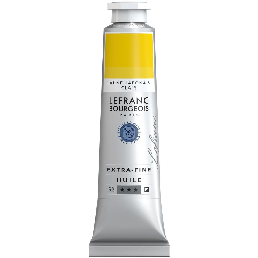 Tinta Óleo Lefranc & Bourgeois Extra Fine 40ml S2 183 Japanese Yellow Light