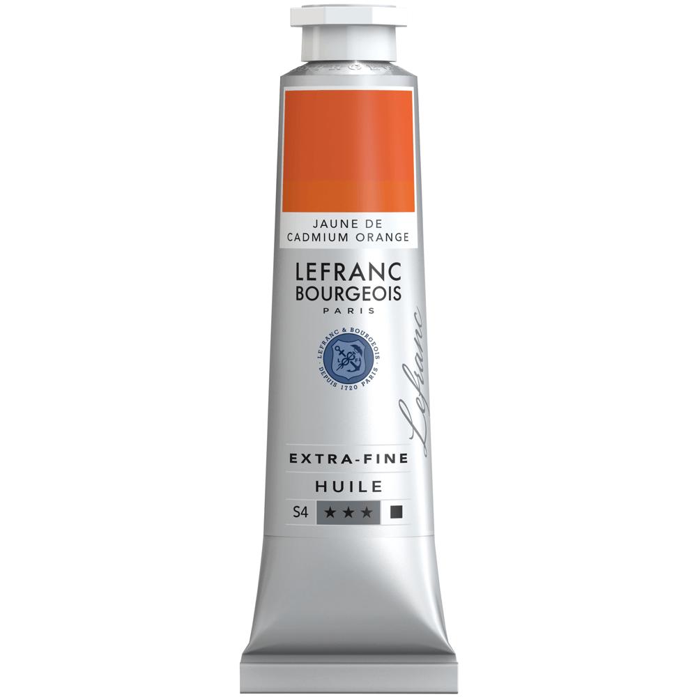 Tinta Óleo Lefranc & Bourgeois Extra Fine 40ml S4 161 Cadmium Yellow Orange