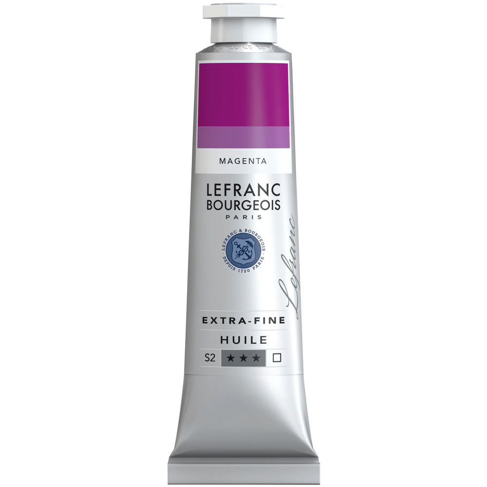 Tinta Óleo Lefranc & Bourgeois Extra Fine 40ml S2 432 Magenta