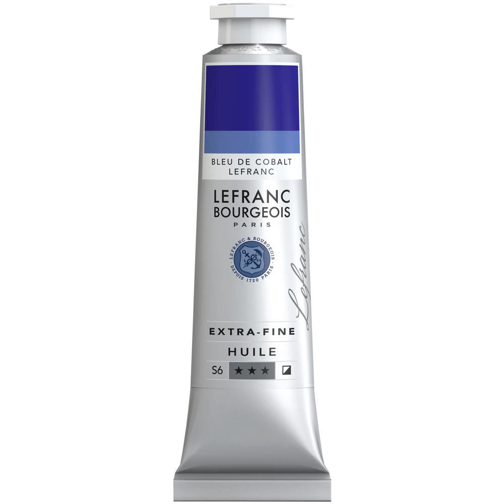 Tinta Óleo Lefranc & Bourgeois Extra Fine 40ml S5 030 Cobalt Blue