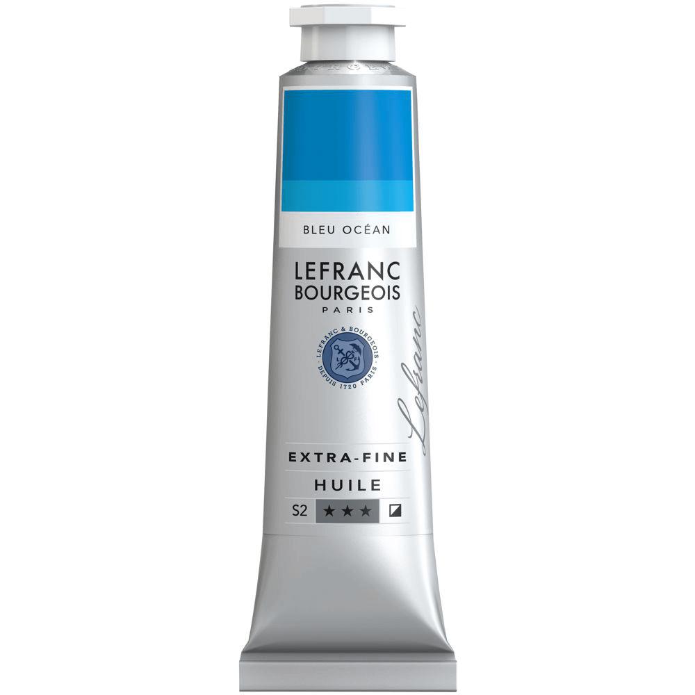 Tinta Óleo Lefranc & Bourgeois Extra Fine 40ml S2 904 Ocean Blue