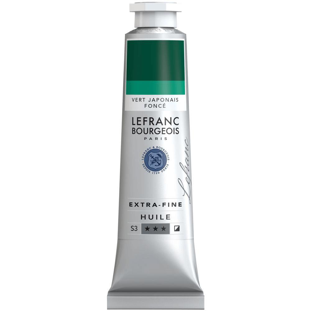 Tinta Óleo Lefranc & Bourgeois Extra Fine 40ml S3 537 Japanese Green Deep