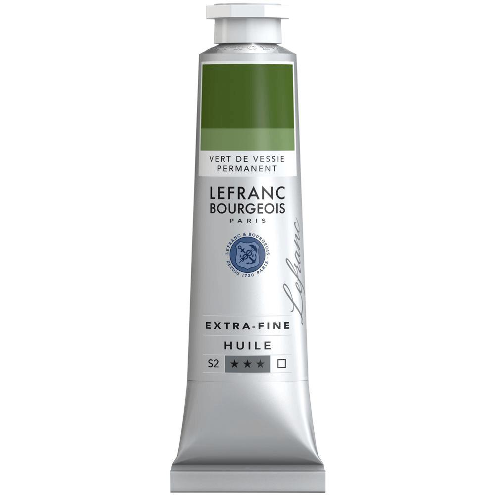 Tinta Óleo Lefranc & Bourgeois Extra Fine 40ml S2 568 Permanent Sap Green