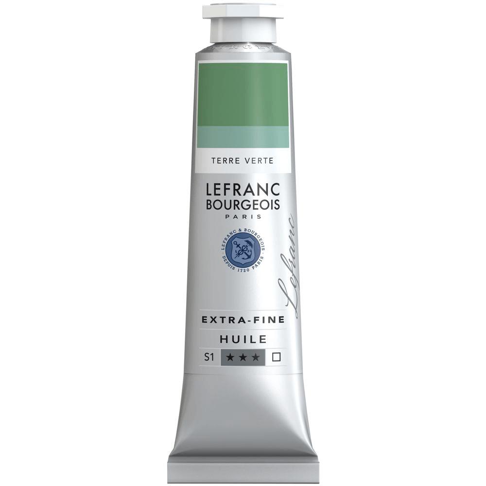 Tinta Óleo Lefranc & Bourgeois Extra Fine 40ml S1 483 Terre Verte