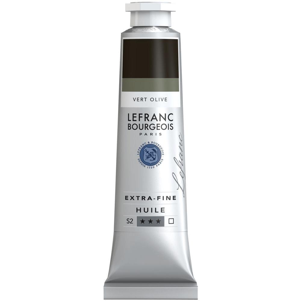 Tinta Óleo Lefranc & Bourgeois Extra Fine 40ml S2 541 Olive Green