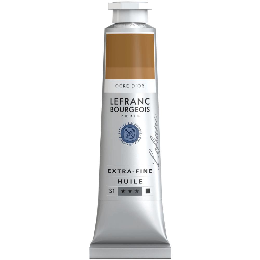 Tinta Óleo Lefranc & Bourgeois Extra Fine 40ml S1 305 Golden Ochre