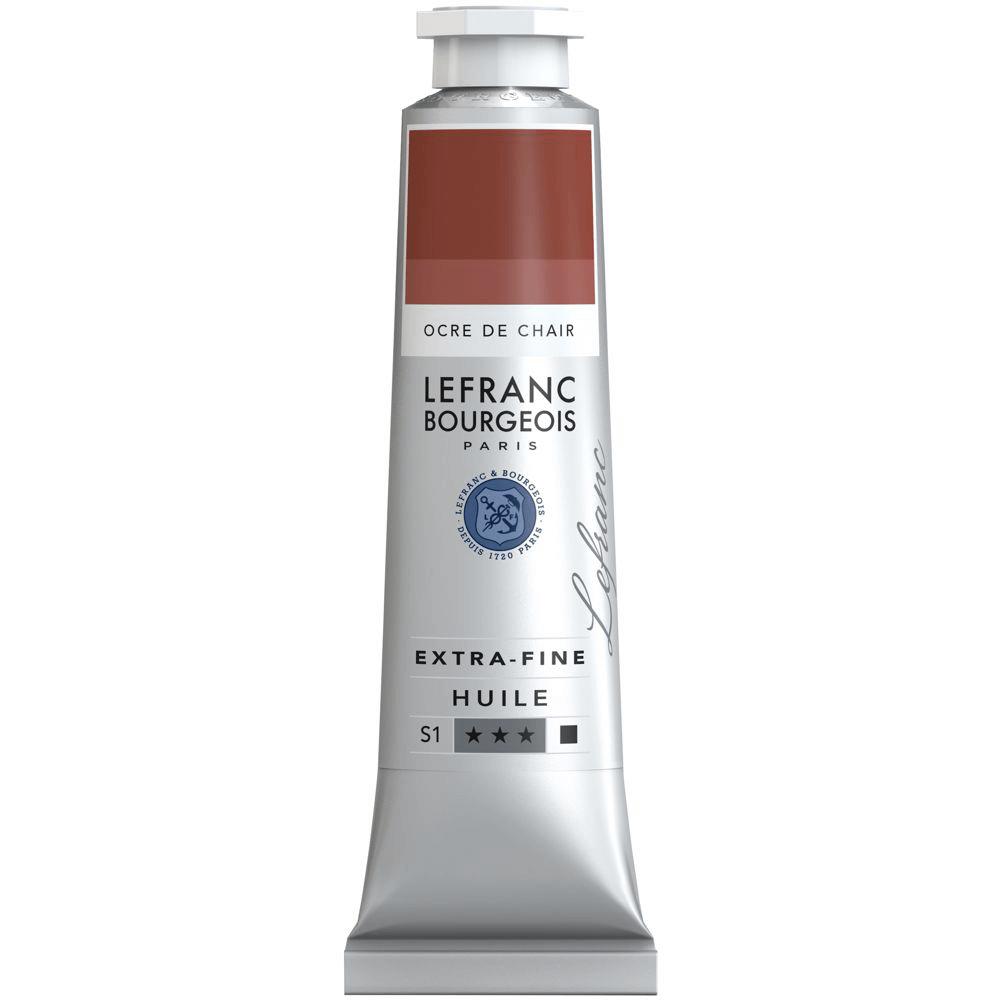 Tinta Óleo Lefranc & Bourgeois Extra Fine 40ml S1 304 Red Oxide