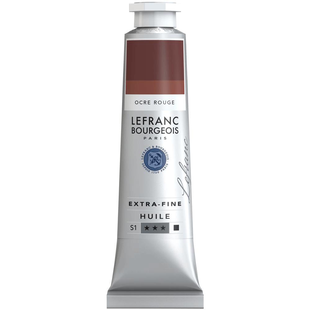 Tinta Óleo Lefranc & Bourgeois Extra Fine 40ml S1 306 Red Ochre