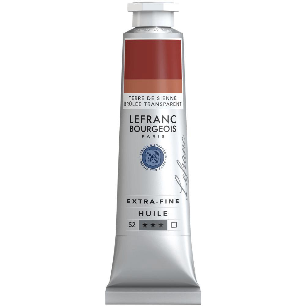 Tinta Óleo Lefranc & Bourgeois Extra Fine 40ml S2 734 Transparent Burnt Sienna