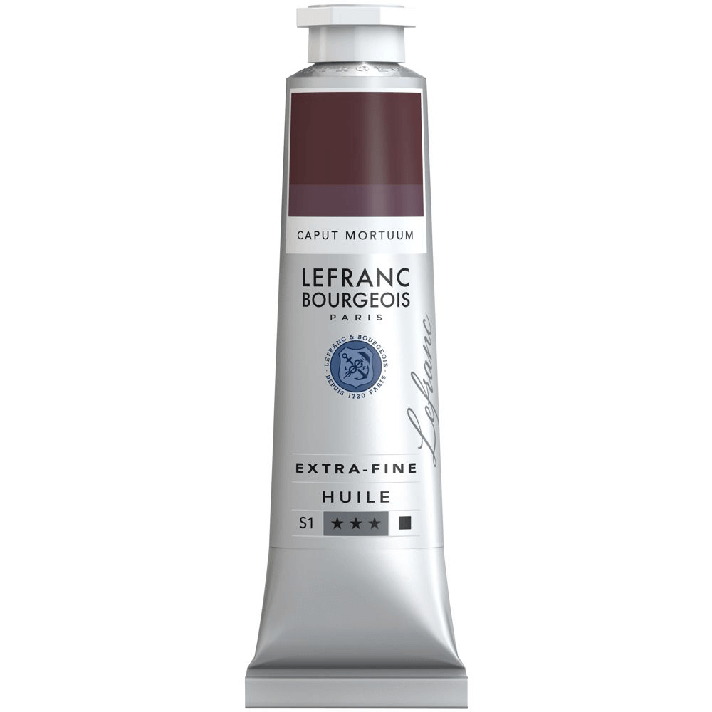 Tinta Óleo Lefranc & Bourgeois Extra Fine 40ml S1 764 Caput Mortuum