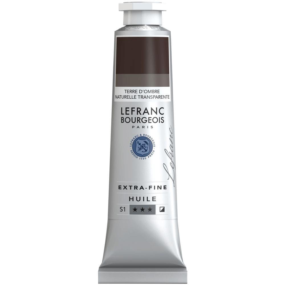 Tinta Óleo Lefranc & Bourgeois Extra Fine 40ml S1 765 Transparent Raw Umber