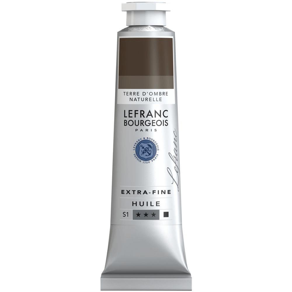Tinta Óleo Lefranc & Bourgeois Extra Fine 40ml S1 478 Raw Umber