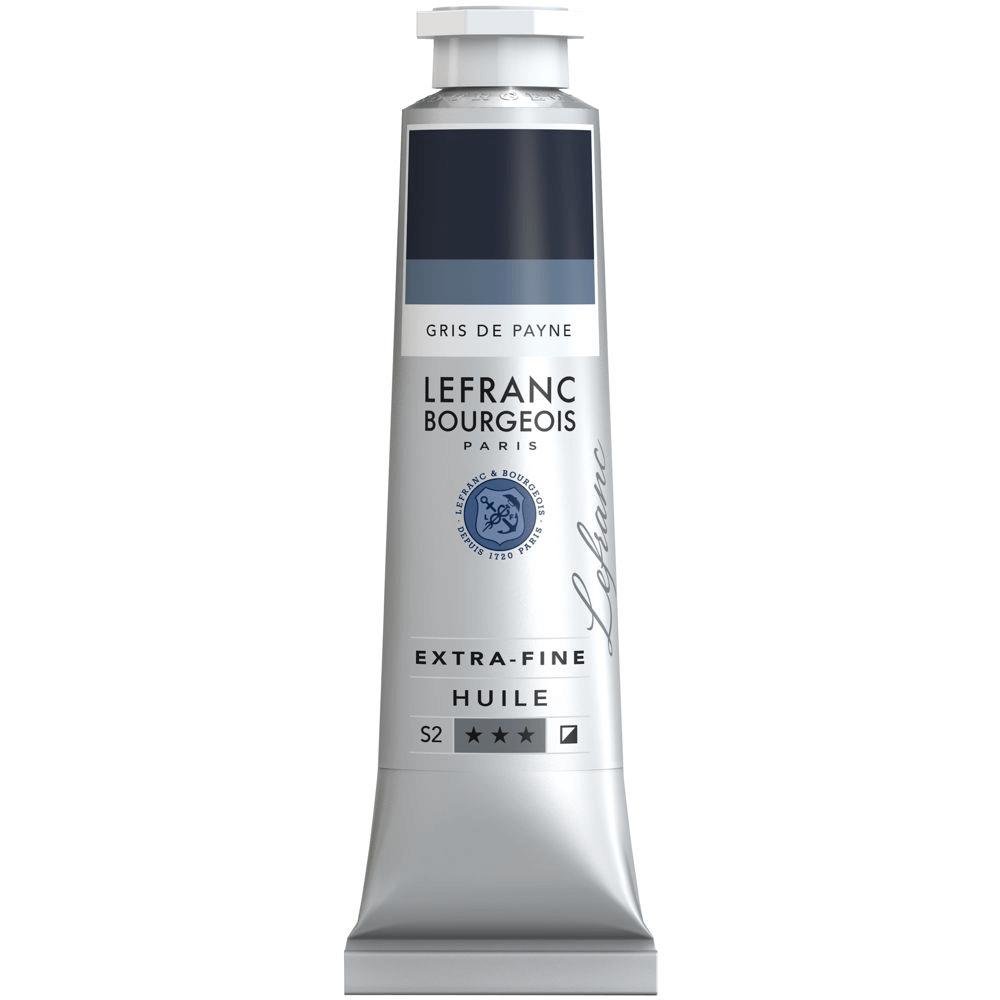 Tinta Óleo Lefranc & Bourgeois Extra Fine 40ml S2 261 Paynes Gray