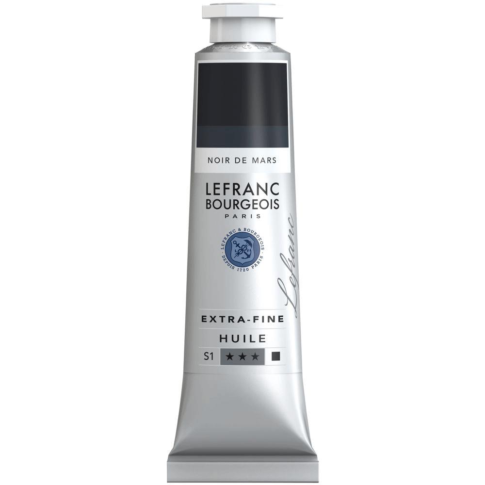 Tinta Óleo Lefranc & Bourgeois Extra Fine 40ml S1 271 Mars Black