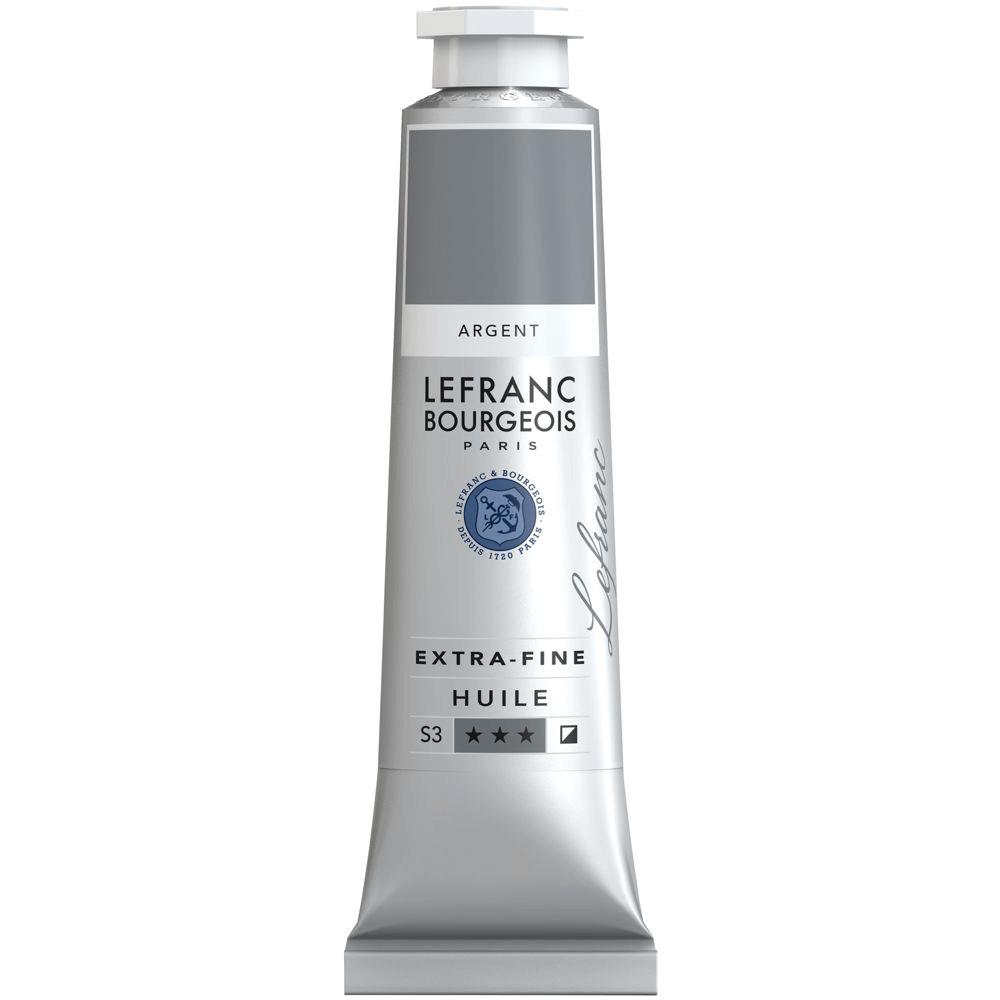 Tinta Óleo Lefranc & Bourgeois Extra Fine 40ml S3 710 Silver