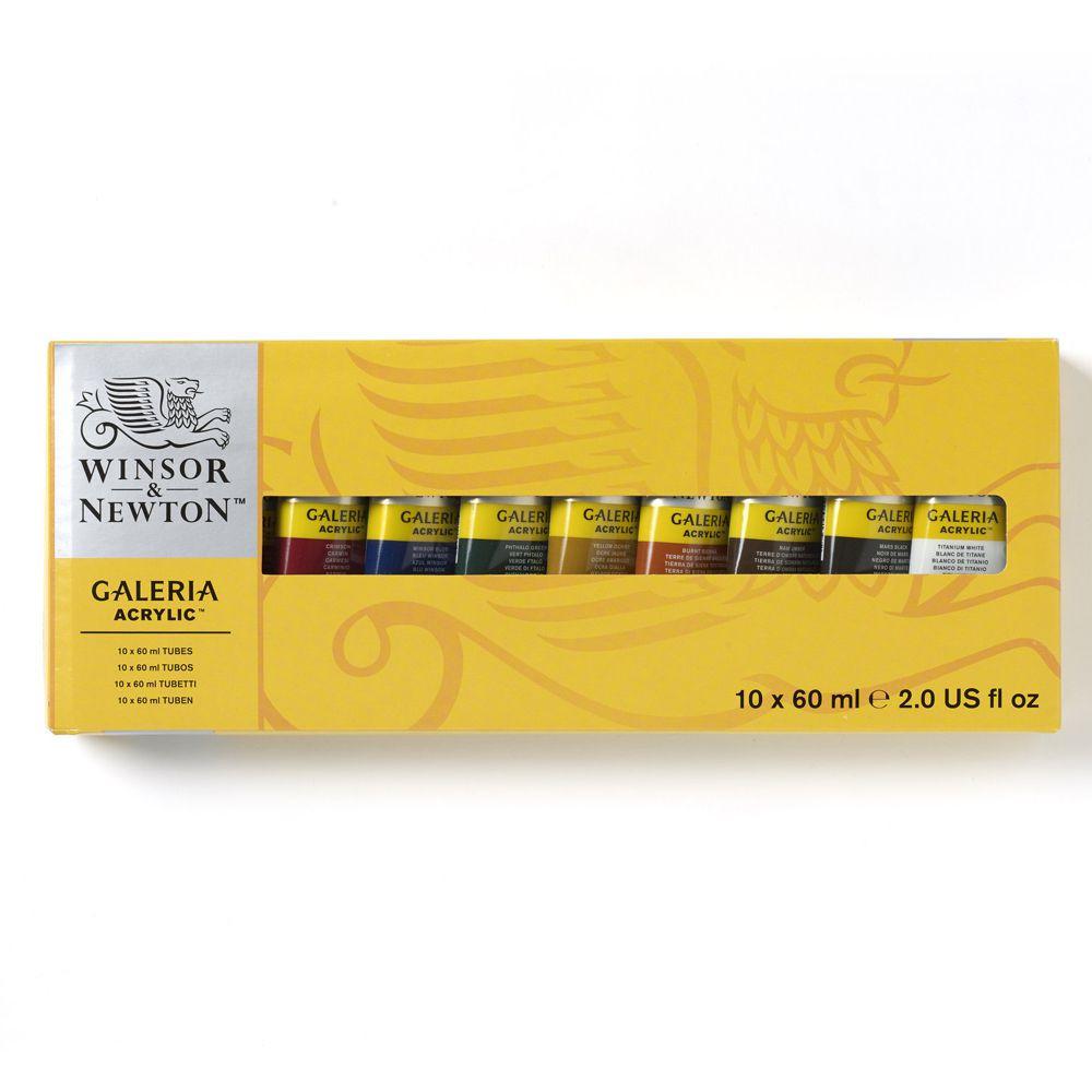 Estojo Tinta Galeria Winsor & Newton C/10 60ml