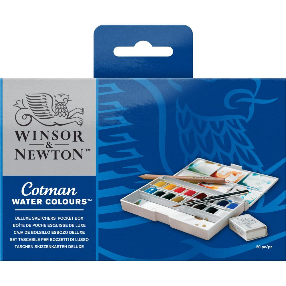 Aquarela Winsor & Newton Cotman Deluxe Sketchers