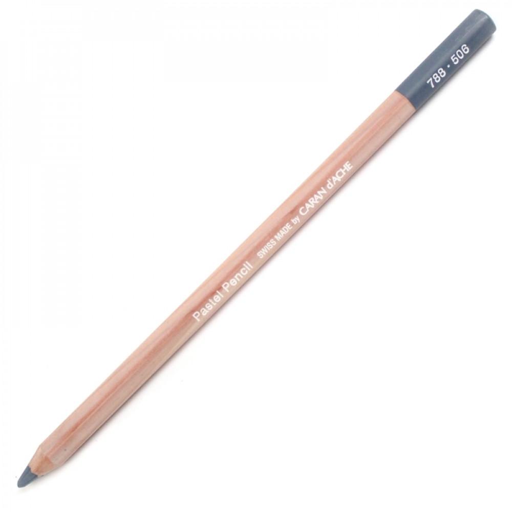 Lápis Pastel Seco Caran d'Ache 506 Payne's Grey 50%