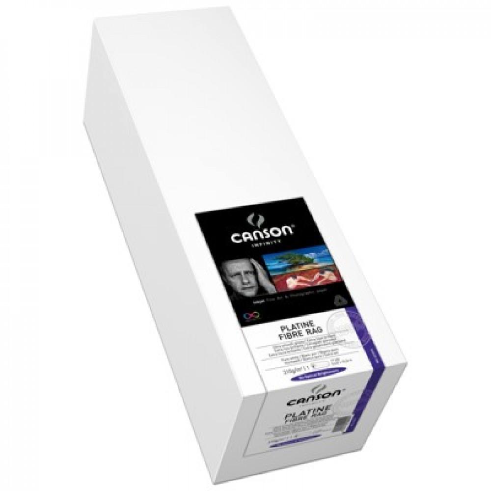 Platine Fibre Rag 310g/m² Rolo de 0,432 X 15,24m