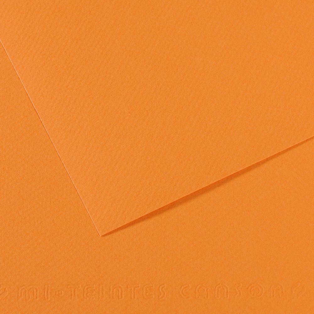 Papel Mi-Teintes Canson 50x65cm 384 Salmão