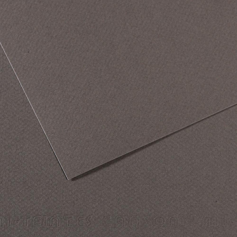 Papel Mi-Teintes Canson 50x65cm 345 Cinza Ardózia