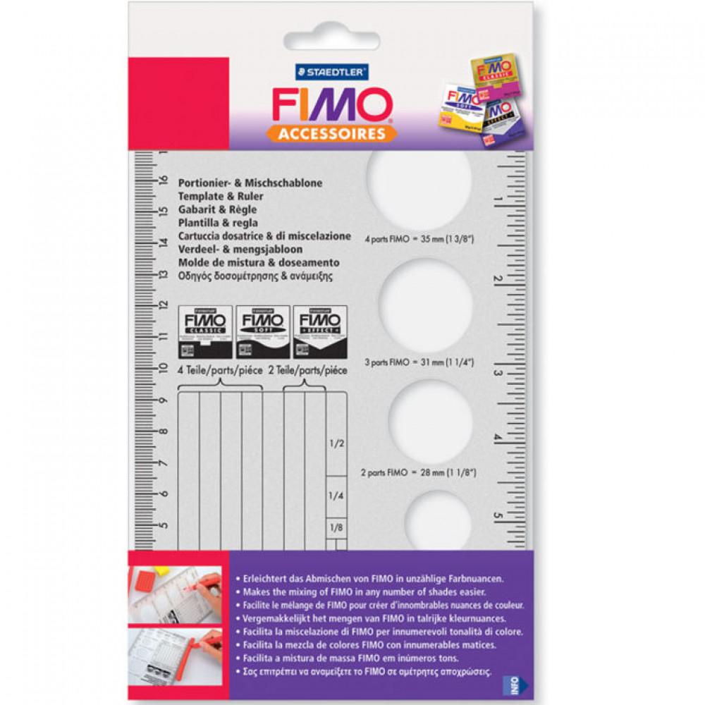 Molde de Mistura e Dosador FIMO 8700 06
