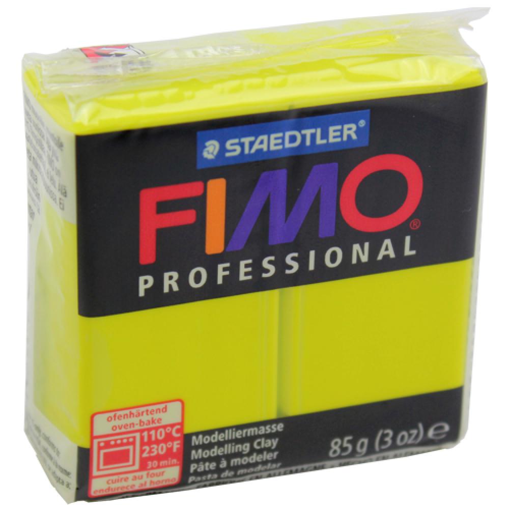 Massa Fimo Professional 01 Amarelo Limão 85g