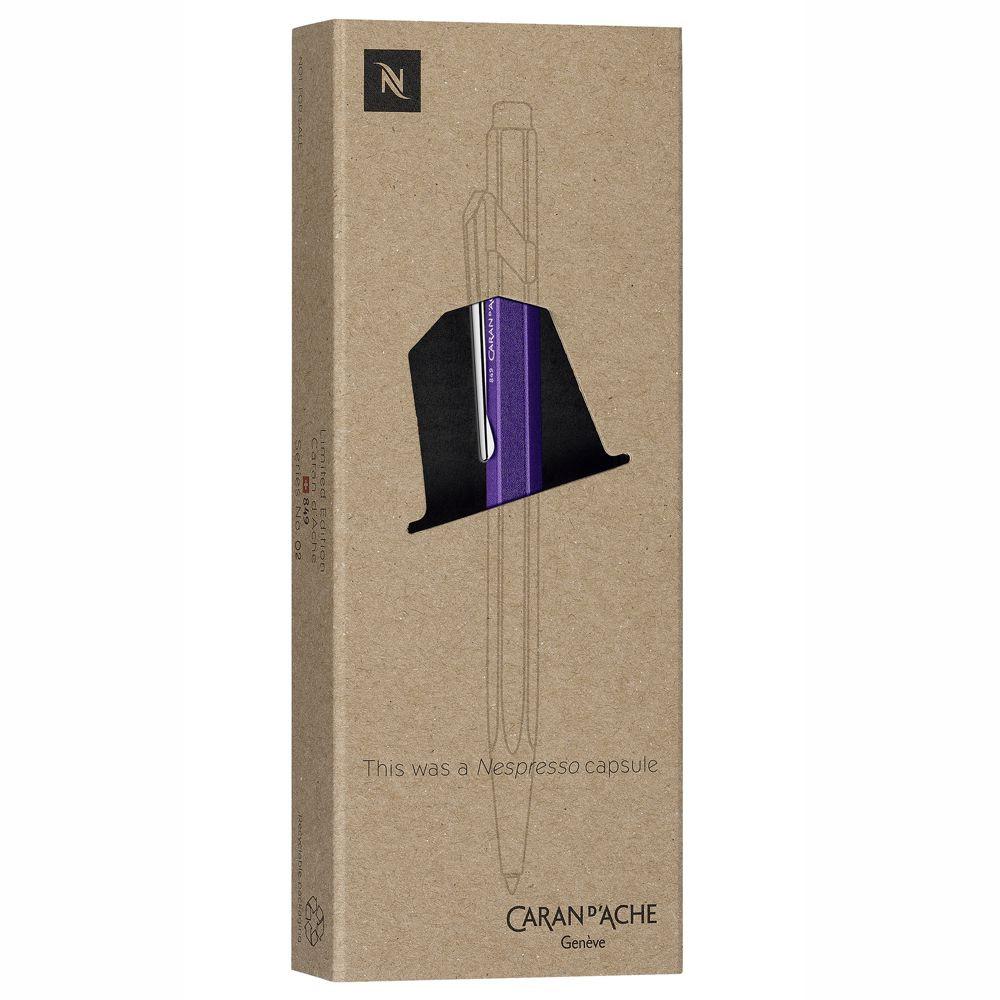 Caneta Esferográfica Caran d'Ache 849 Nespresso 3° Edição