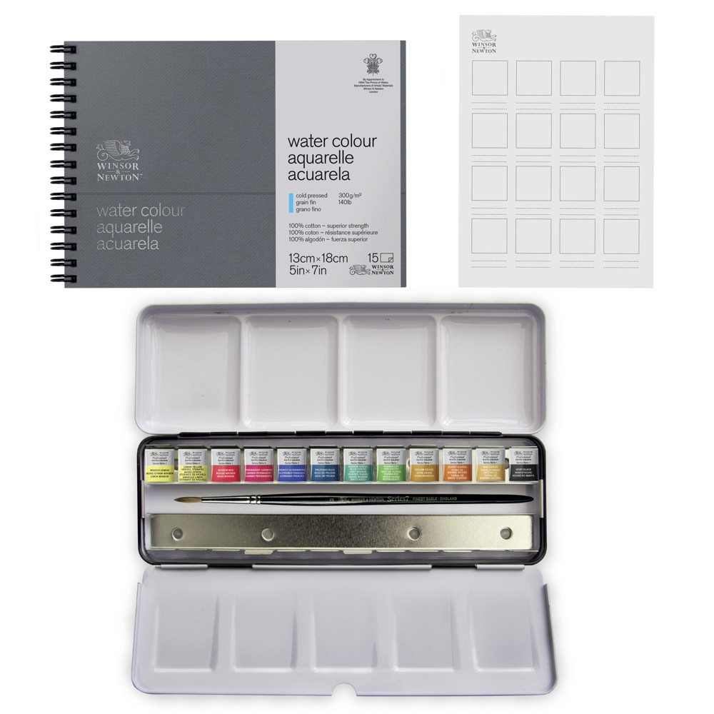 Aquarela Winsor&Newton Profissional Gift Collection