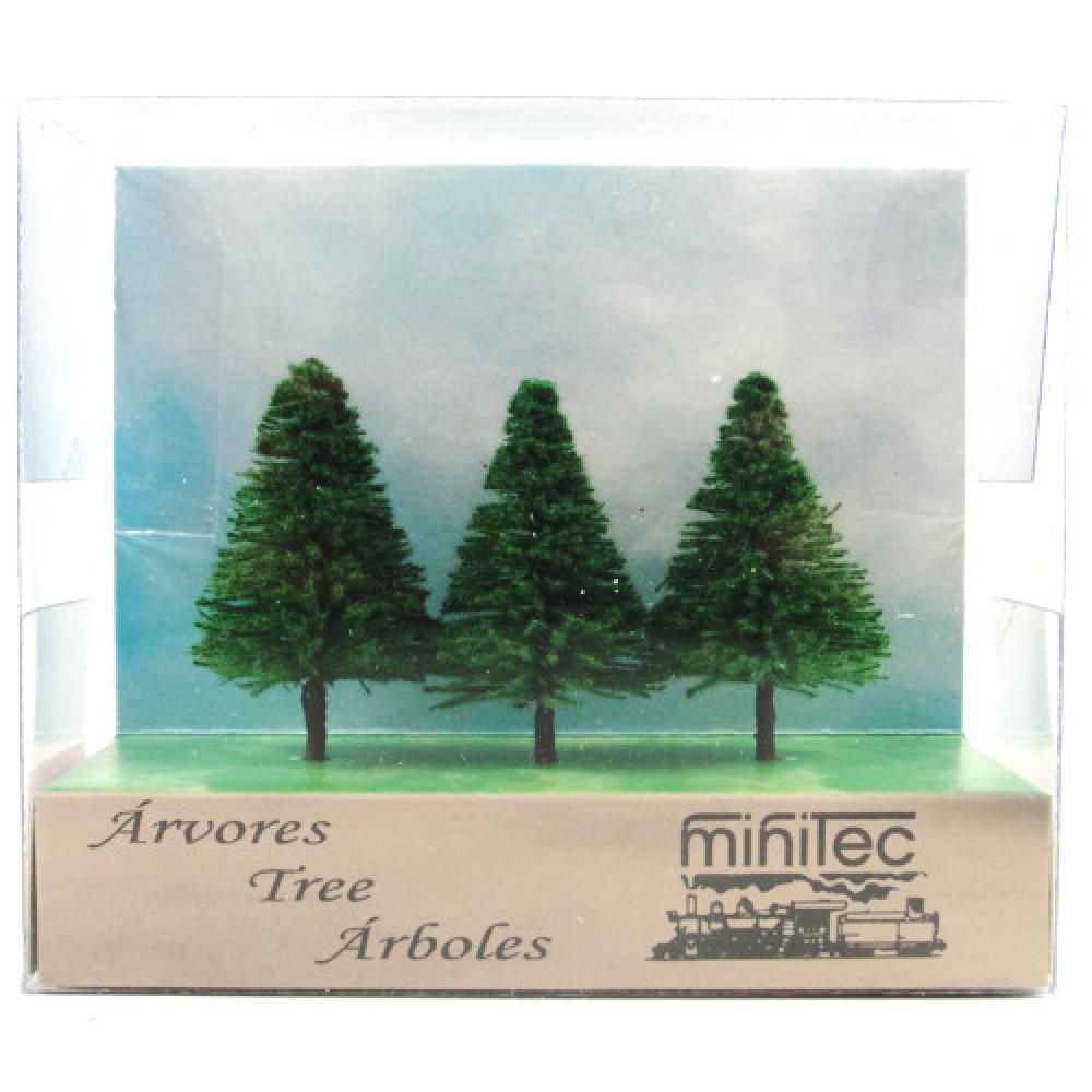 Árvore Para Maquete Minitec 03 Peças 771
