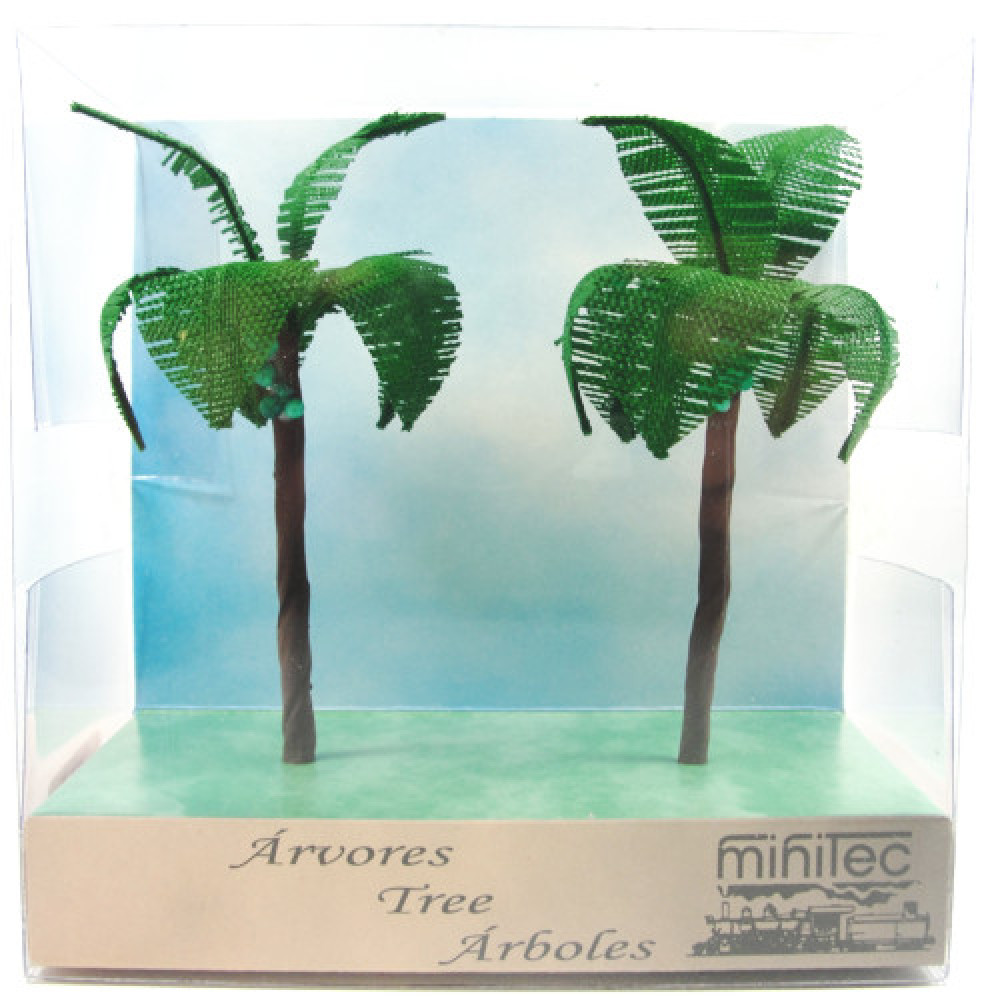 Árvore Para Maquete Minitec 02 Peças 785