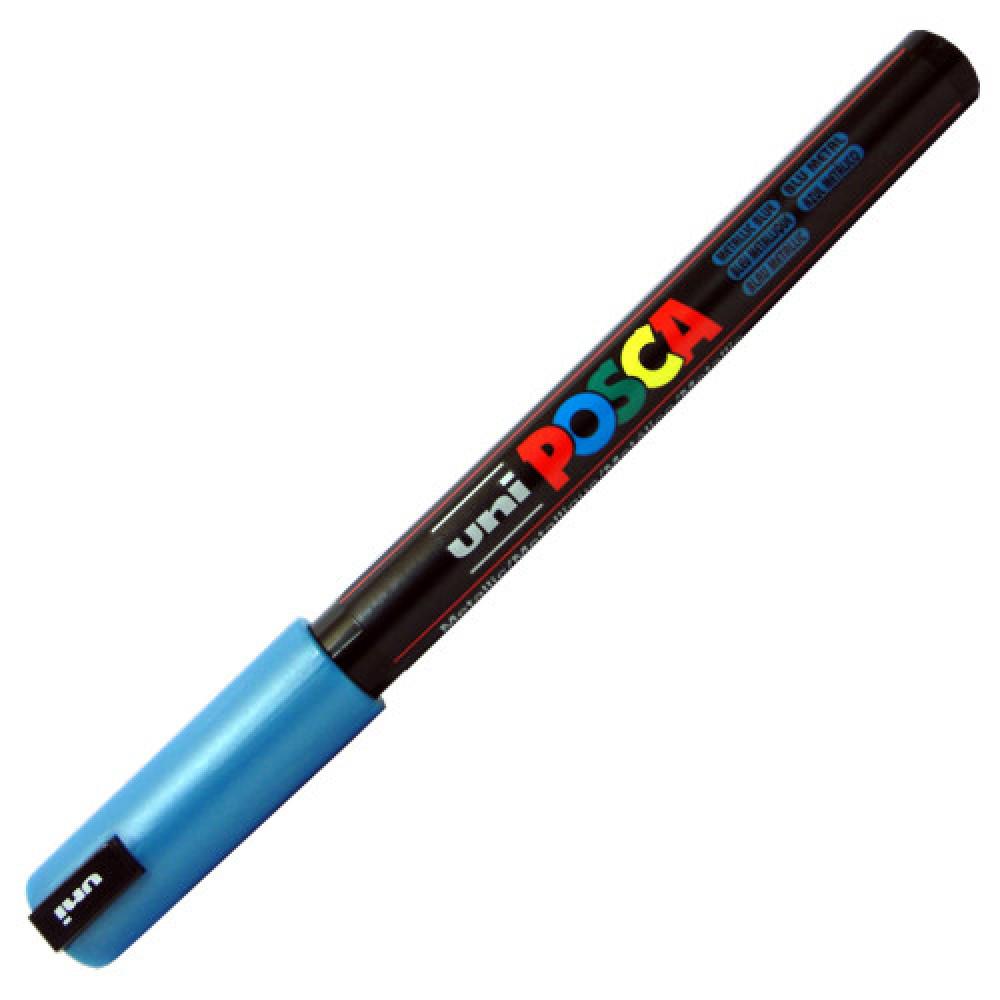 Caneta Posca PC-1MR Azul Metálico