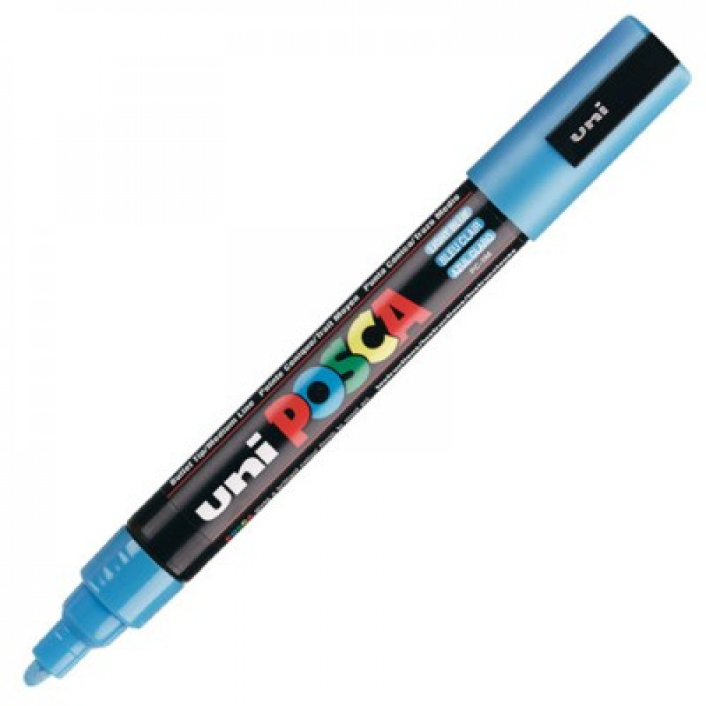 Caneta Posca PC-5M Azul Claro