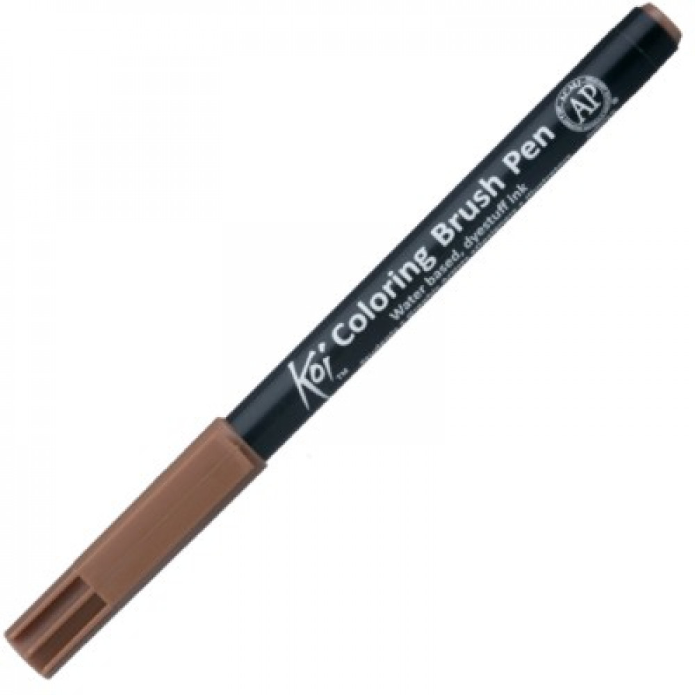 Caneta Sakura Brush Pen 012 Brown