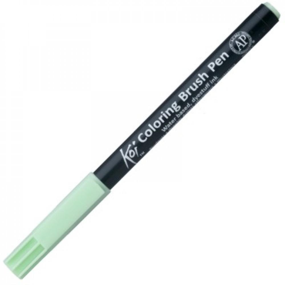 Caneta Sakura Brush Pen 128 Ice Green