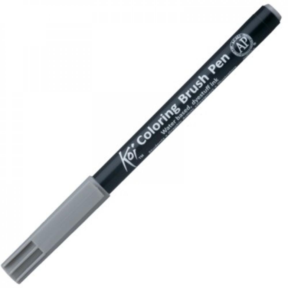 Caneta Sakura Brush Pen 046 Dark Cool Gray