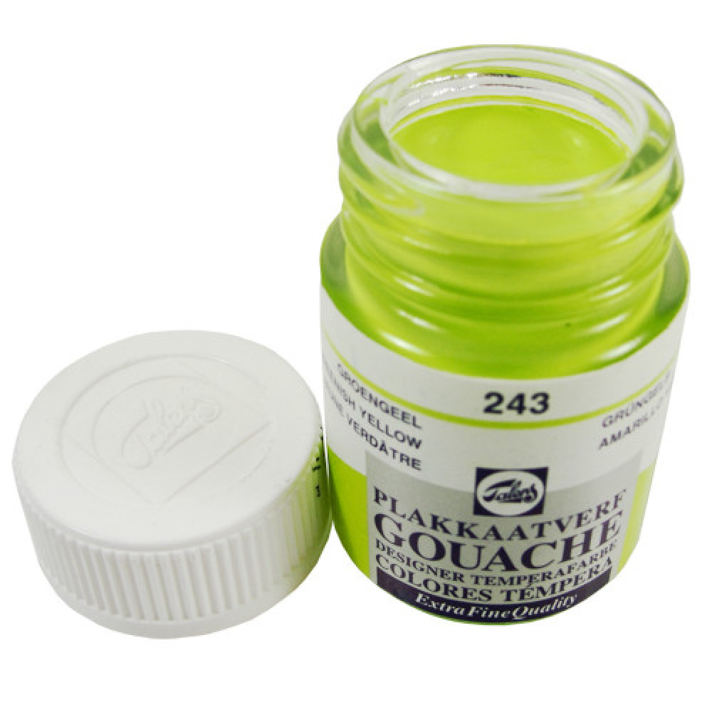 Tinta Guache Talens Extra Fine 16ml 243 Greenish Yellow
