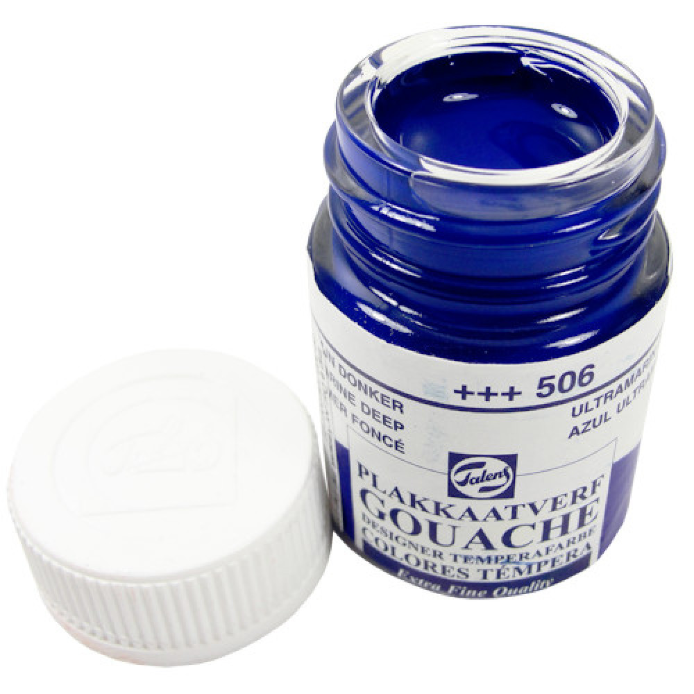 Tinta Guache Talens Extra Fine 16ml 506 Ultramarine Deep